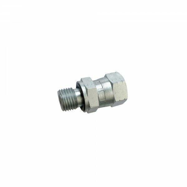"""Adapter straight ÜW JIC to screw-in spigot G1 / 4 """"(SuperSaw 555-S)"""
