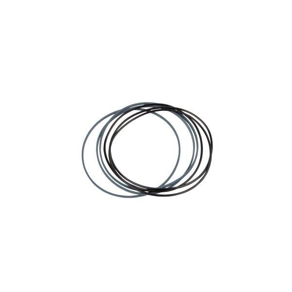 Dichtungssatz SuperCut 100 Drehdurchführung, 3 O-Ringe, 3 Stützringe (SuperSaw 350E-10/350E-19)