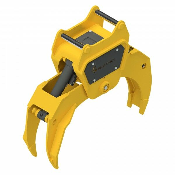HULTDINS Multi-use grapple gripper MultiGrip TL480 with holder for quick coupler OQ70
