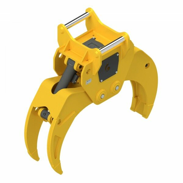 HULTDINS Multi-use grapple gripper MultiGrip TL580 with holder for quick coupler OQ70