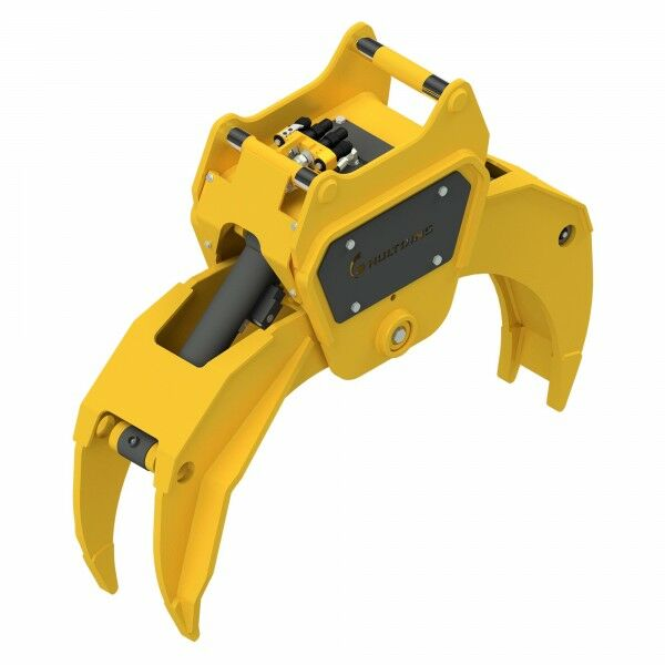HULTDINS Multi-use grapple gripper MultiGrip TL520 with holder for quick coupler OQ70