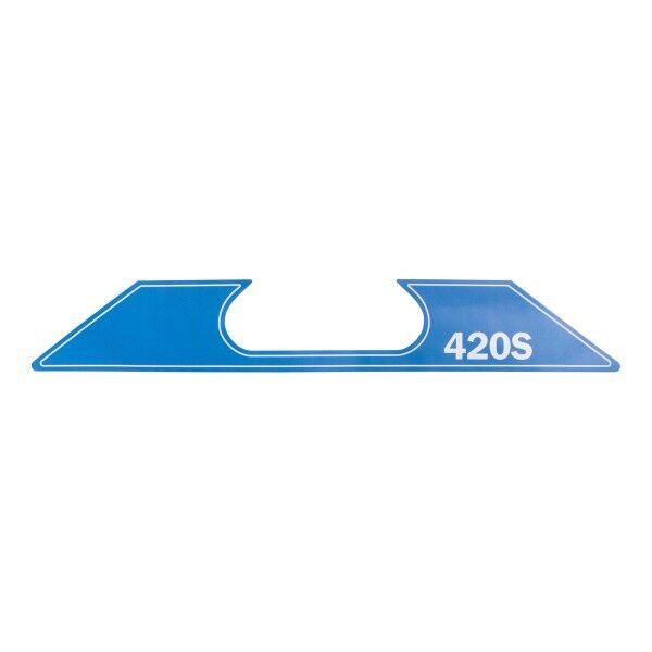 Aufkleber (SuperGrip II 420-S, Modelljahr 2007+) ersetzt durch 0146199