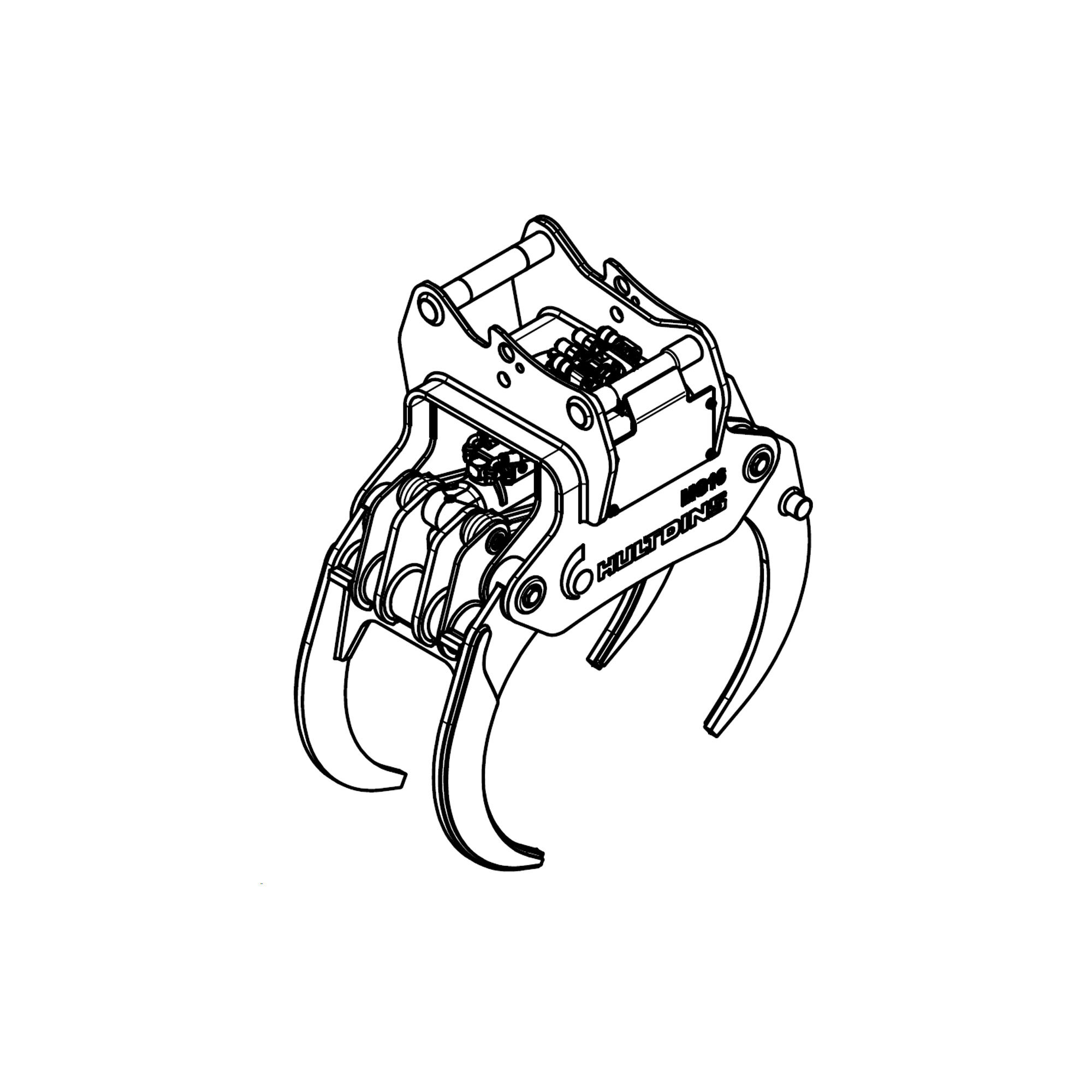 MultiGrip R Reisiggreifer