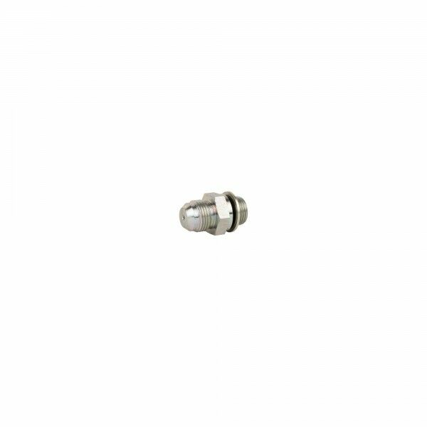 "Straight screw-in adapter G1 / 2 ""x 7/8"" UNF throttle 2.5 mm"