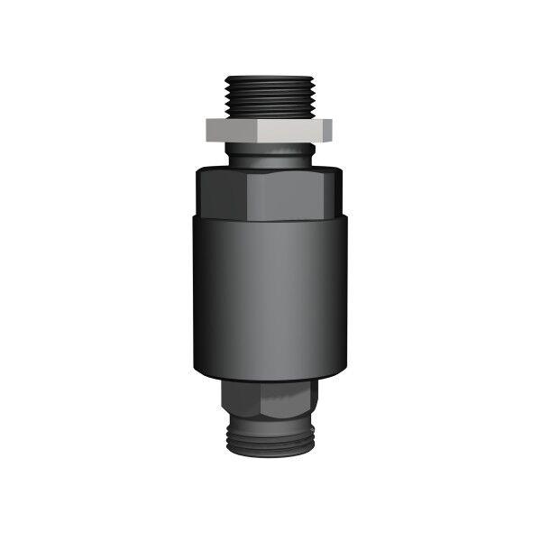 INDEXATOR Drehverschraubung K100 M36x2,0 28L AxA Schottadapter