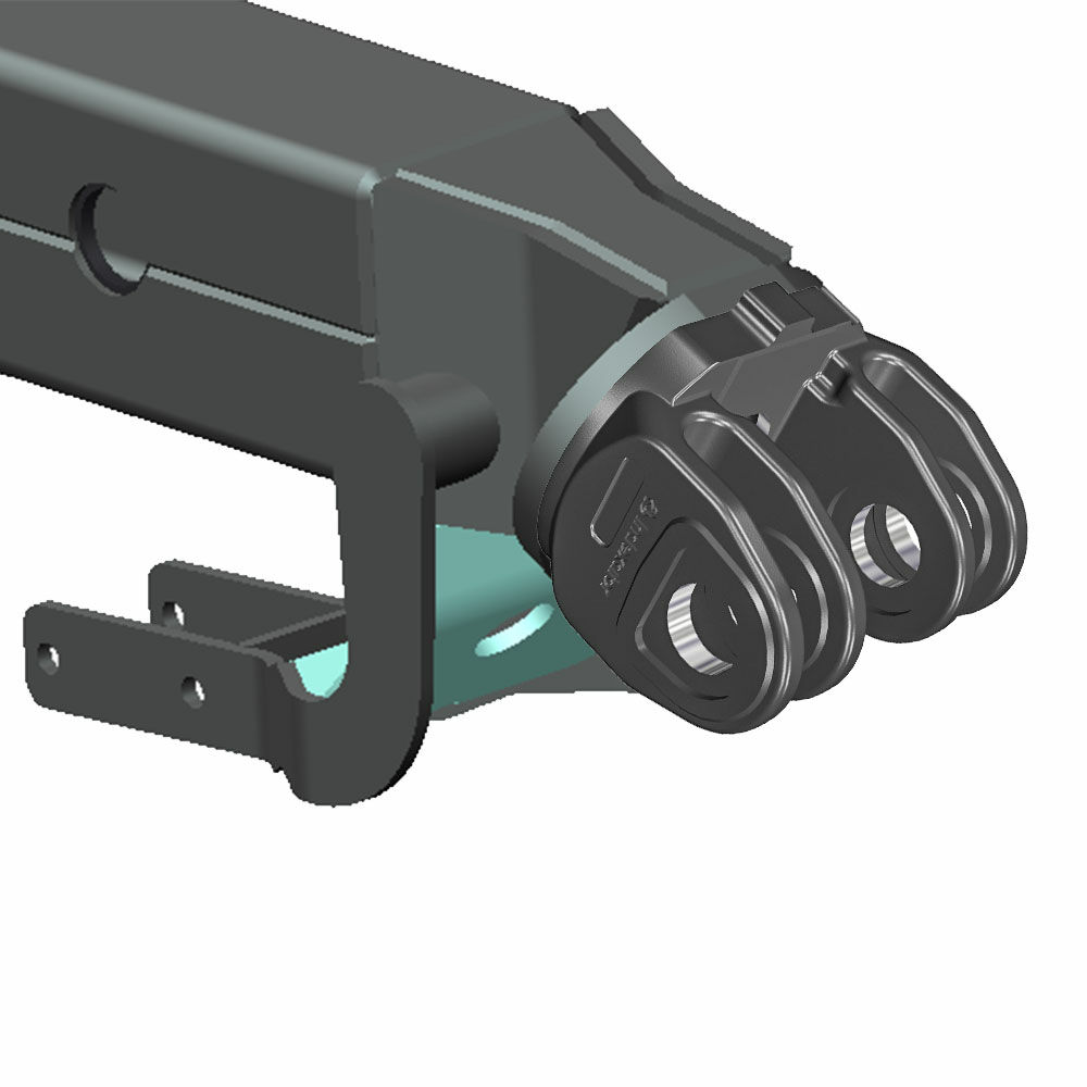 For crane tips with 4 brackets (MPB-2)