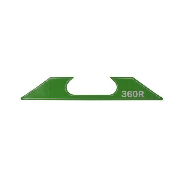 Aufkleber (SuperGrip II 360-R, Modelljahr 2007+)