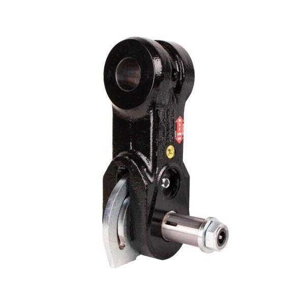 INDEXATOR swing damper brake with brake below 100 / 45-100 / xx-L240-HD, steel